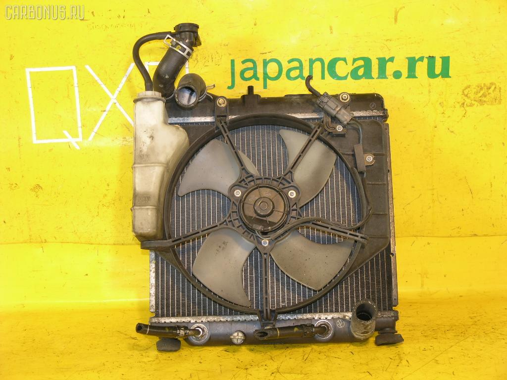 Радиатор ДВС HONDA FIT GD1 L13A. Фото 10