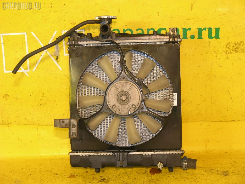 Радиатор ДВС SUZUKI WAGON R MC11S F6A. Фото 1