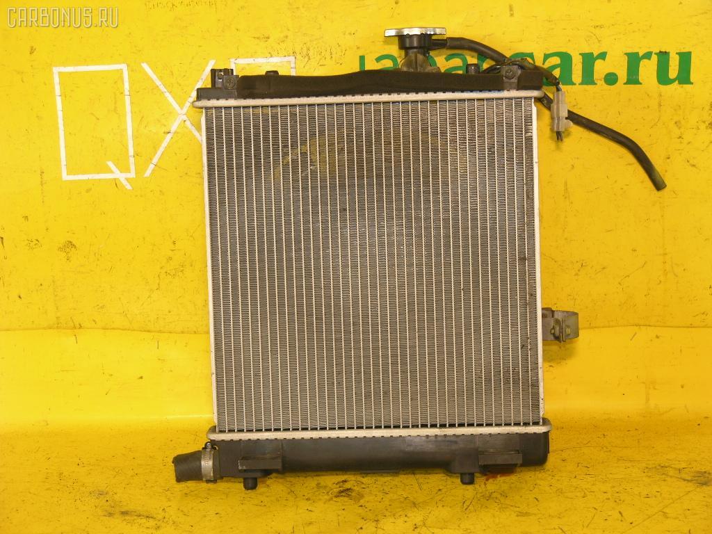 Радиатор ДВС SUZUKI WAGON R MC11S F6A. Фото 2