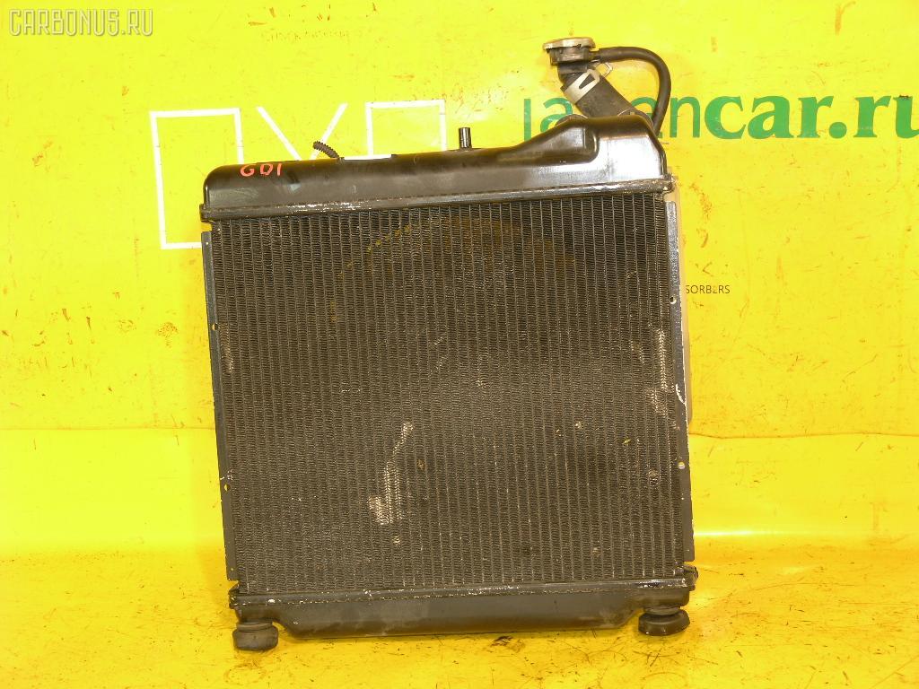 Радиатор ДВС HONDA FIT GD1 L13A. Фото 11