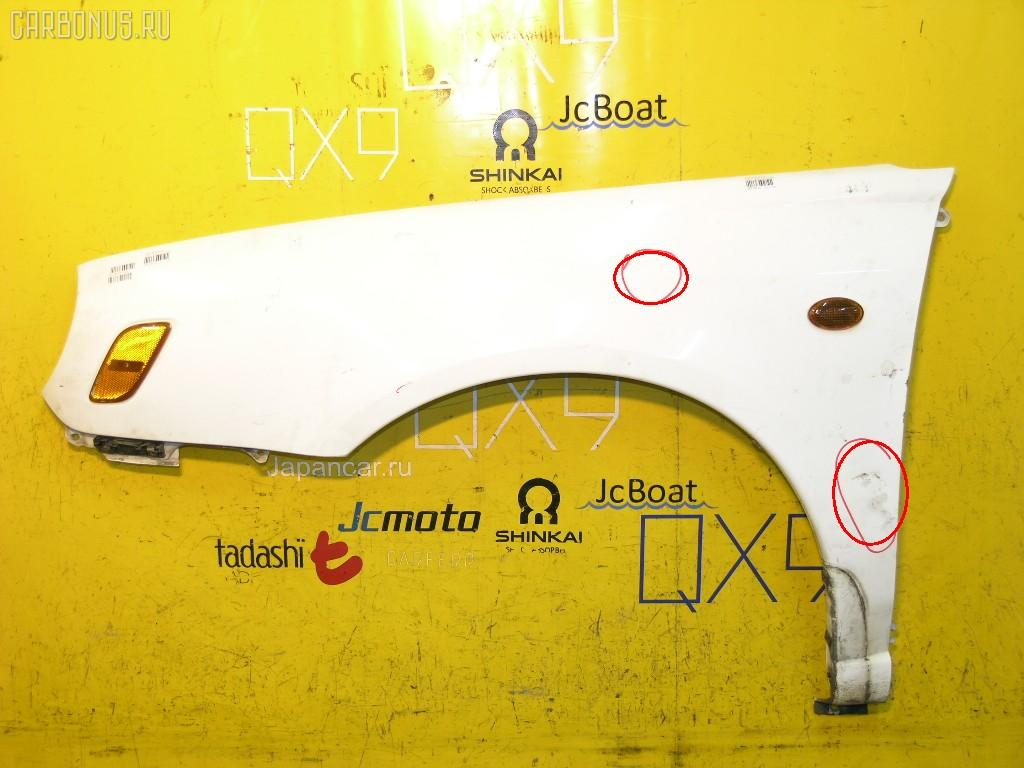 Крыло переднее SUBARU IMPREZA WAGON GG2. Фото 5