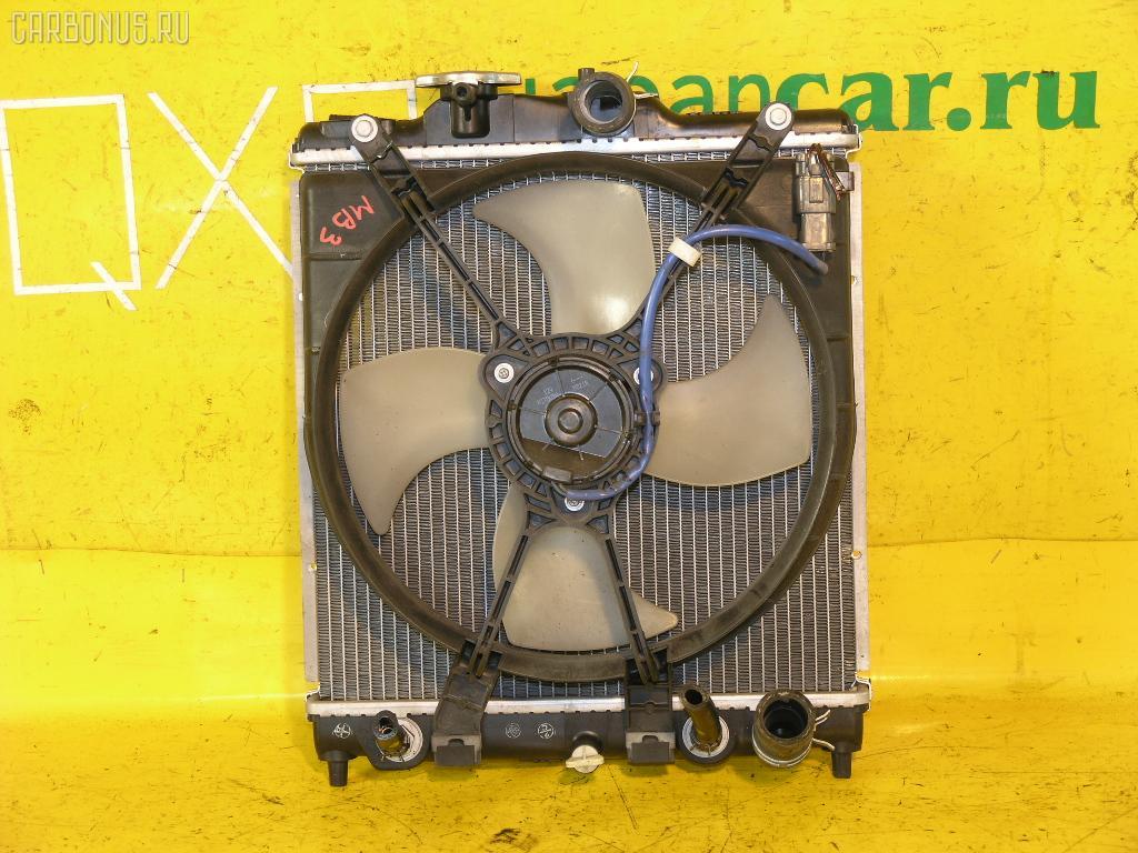 Радиатор ДВС HONDA DOMANI MB3 D15B. Фото 1