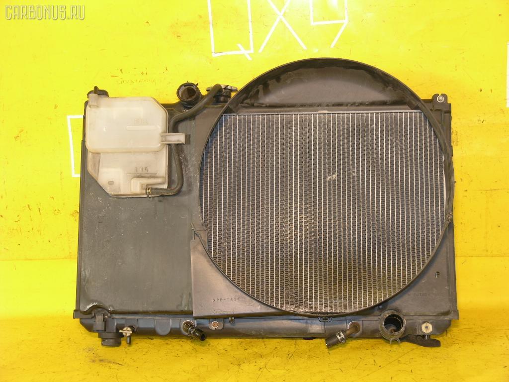 Радиатор ДВС TOYOTA JZX100 1JZ-GE. Фото 6