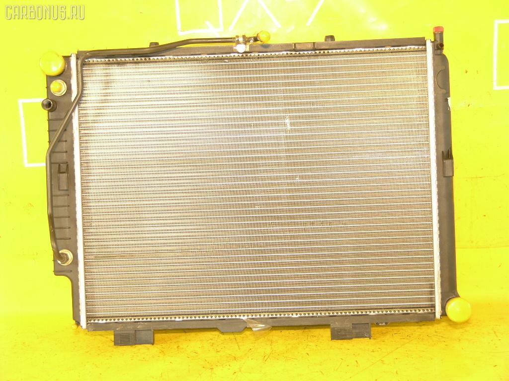 Радиатор ДВС MERCEDES-BENZ E-CLASS STATION WAGON S210.237 111.970. Фото 2