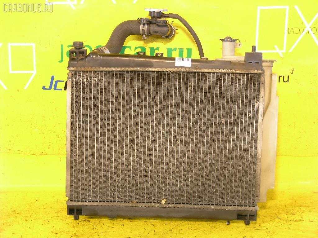 Радиатор ДВС TOYOTA SUCCEED NCP51G 1NZ-FE. Фото 1