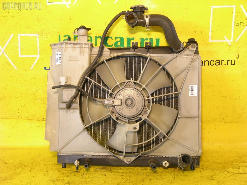 Радиатор ДВС TOYOTA SUCCEED NCP51G 1NZ-FE. Фото 2