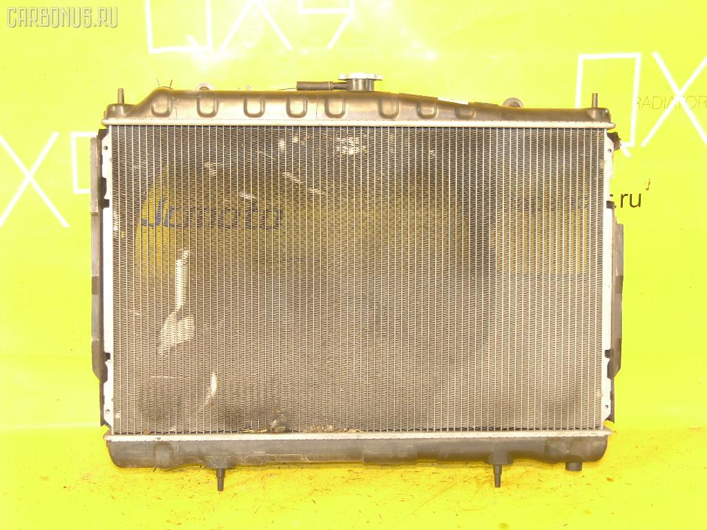Радиатор ДВС NISSAN LAUREL GC35 RB25DE. Фото 1