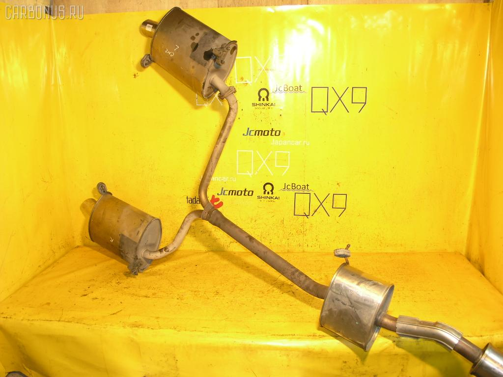 Глушитель HONDA ACCORD CL9 K24A. Фото 1
