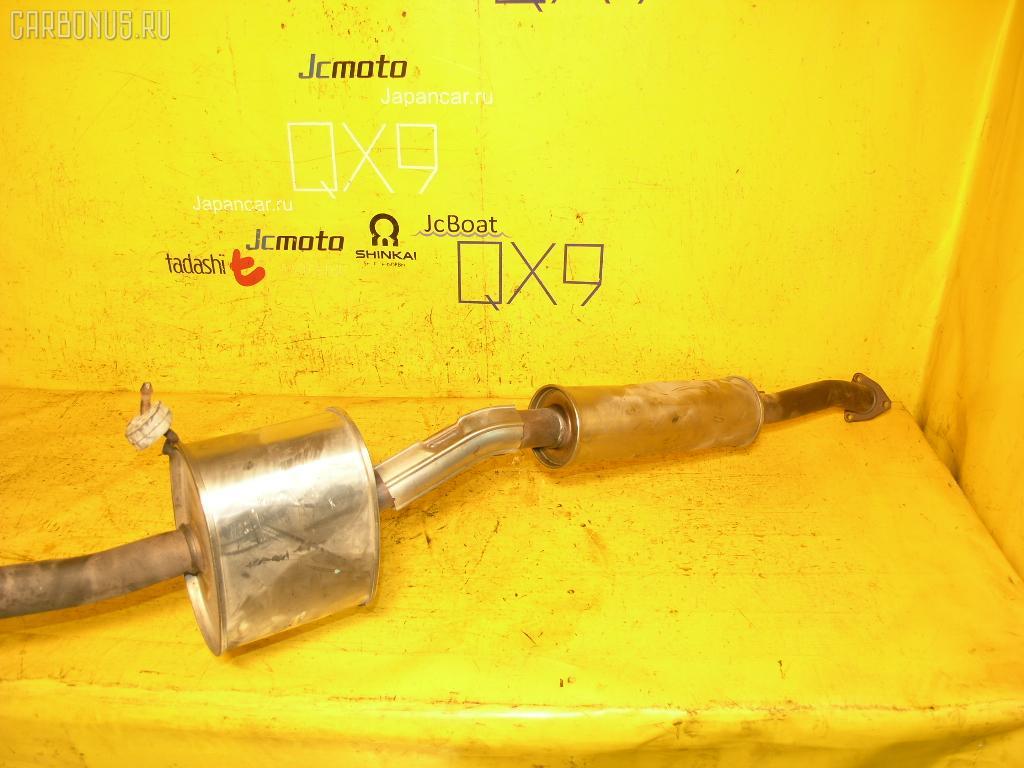 Глушитель HONDA ACCORD CL9 K24A. Фото 2
