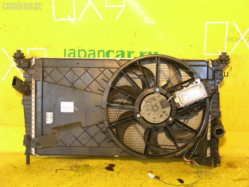 Радиатор ДВС FORD FOCUS II WF0AOD AODA. Фото 2