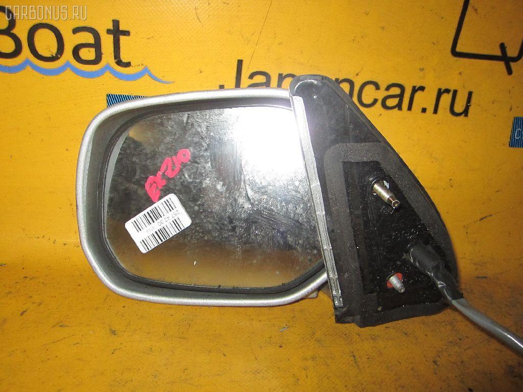 Зеркало двери боковой TOYOTA RAUM EXZ10. Фото 4