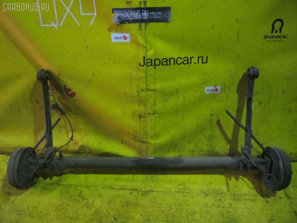 Балка подвески TOYOTA RAUM EXZ10 5E-FE. Фото 1