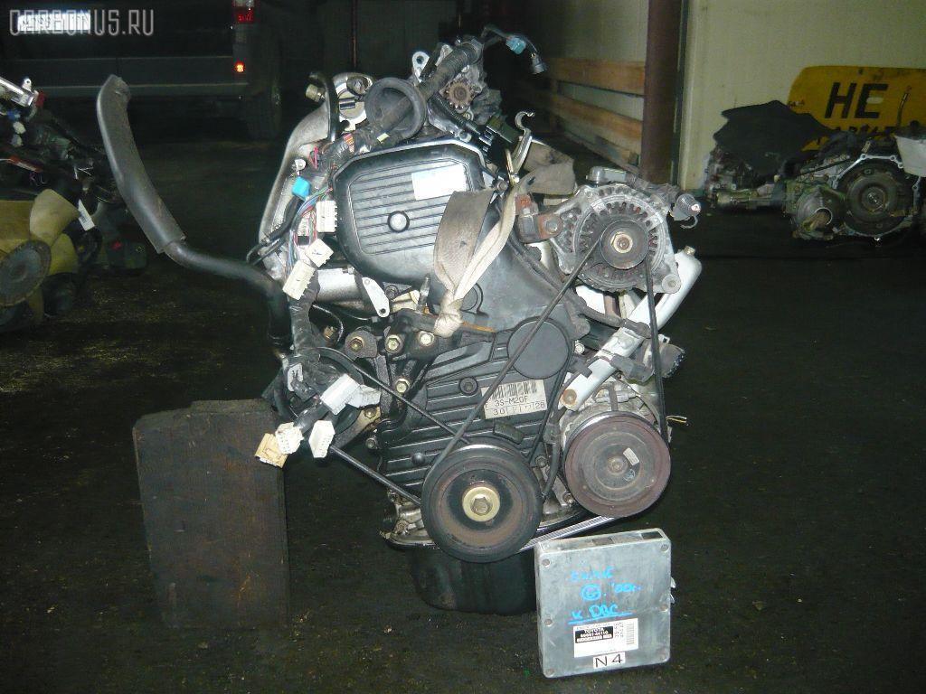 Двигатель TOYOTA GAIA SXM15G 3S-FE. Фото 7