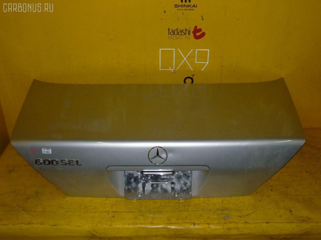 Крышка багажника MERCEDES-BENZ S-CLASS W140.056. Фото 1