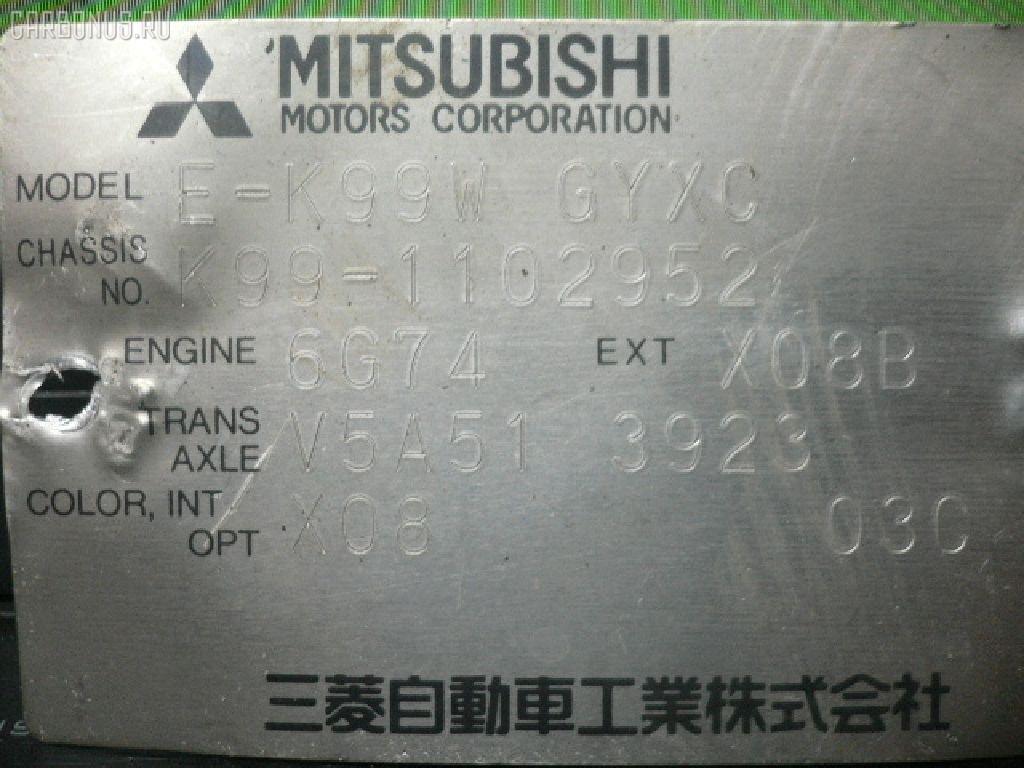 Подушка двигателя MITSUBISHI CHALLENGER K99W 6G74 Фото 2