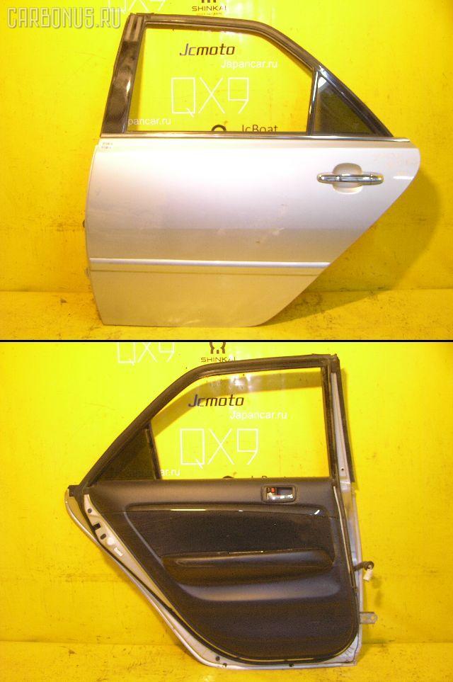 Дверь боковая TOYOTA MARK II BLIT JZX110W. Фото 1