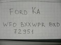 Стойка амортизатора FORD KA WF0BJ4 J4 Фото 3