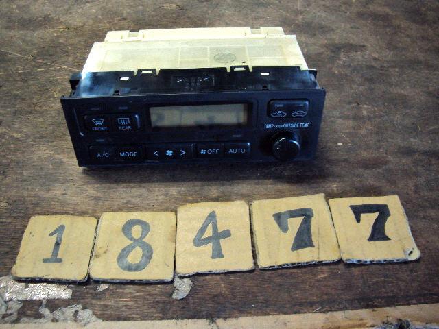Блок управления климатконтроля TOYOTA CHASER JZX100 1JZ-GE. Фото 6