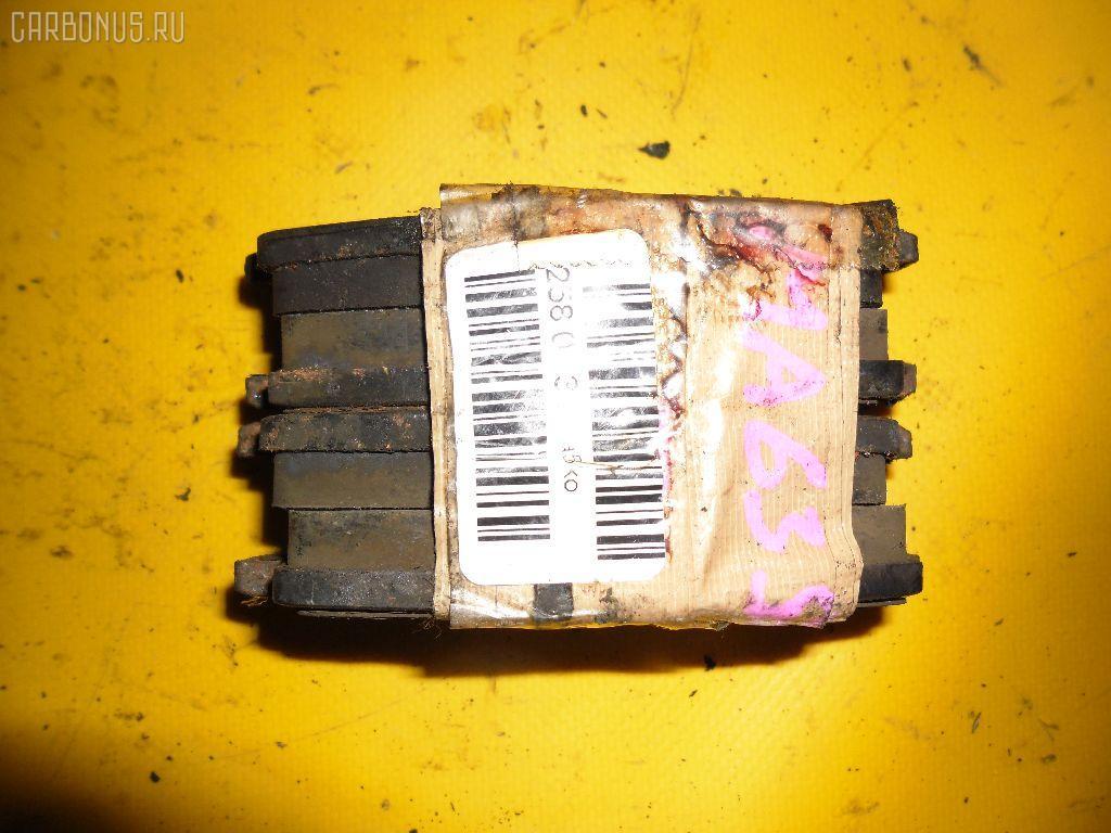 Тормозные колодки SUZUKI WAGON R PLUS MA63S K10A