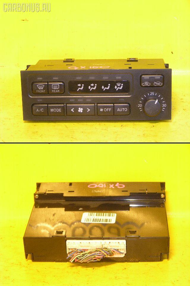 Блок управления климатконтроля TOYOTA GX100 1G-FE. Фото 1