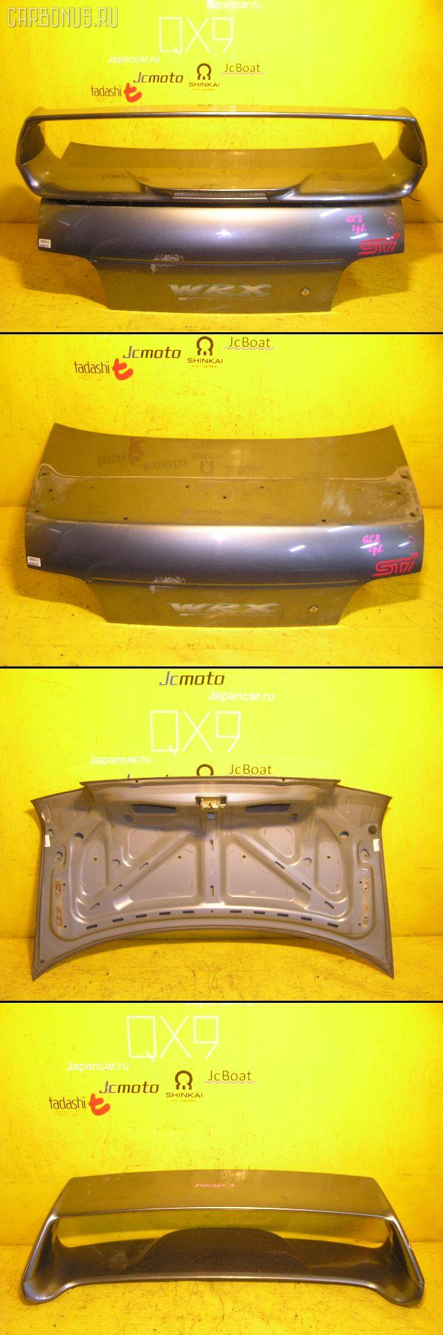 Крышка багажника SUBARU IMPREZA GC8. Фото 3