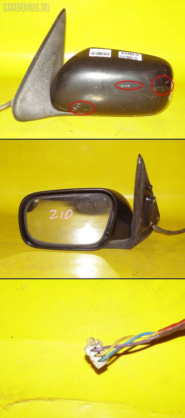 Зеркало двери боковой NISSAN CUBE Z10. Фото 4