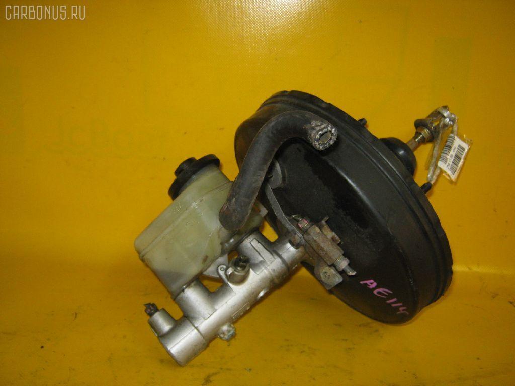 Главный тормозной цилиндр TOYOTA COROLLA AE114 4A-FE. Фото 2