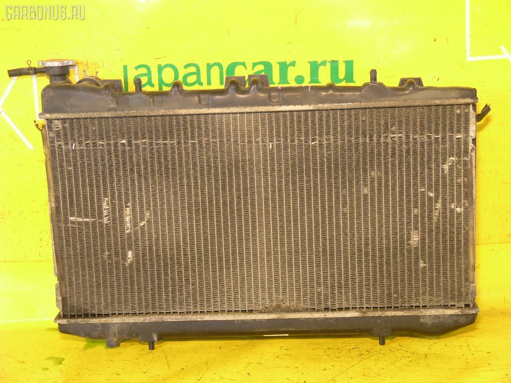 Радиатор ДВС NISSAN SUNNY FNB14 GA15DE. Фото 1