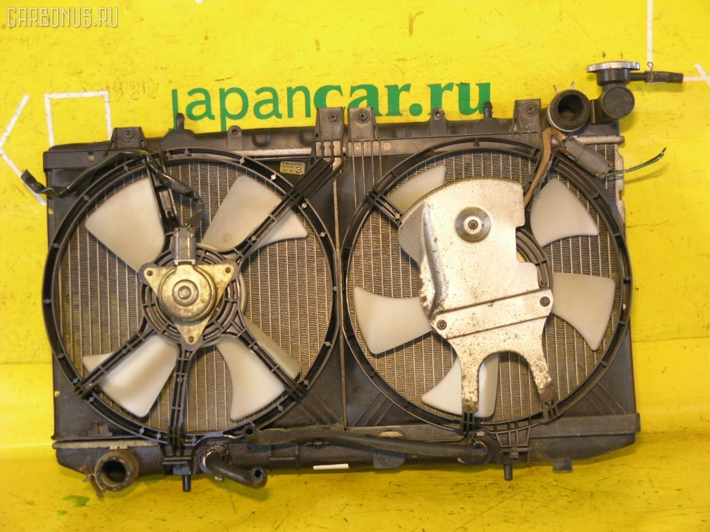 Радиатор ДВС NISSAN SUNNY FNB14 GA15DE. Фото 2