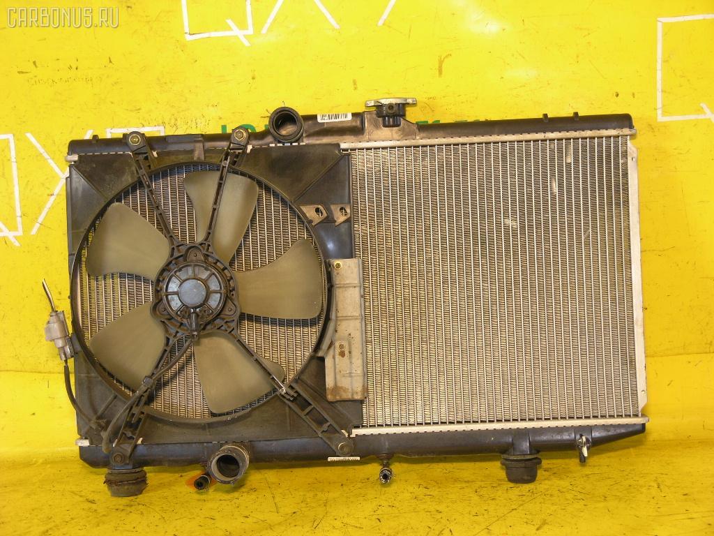Радиатор ДВС TOYOTA COROLLA AE114 4A-FE. Фото 1