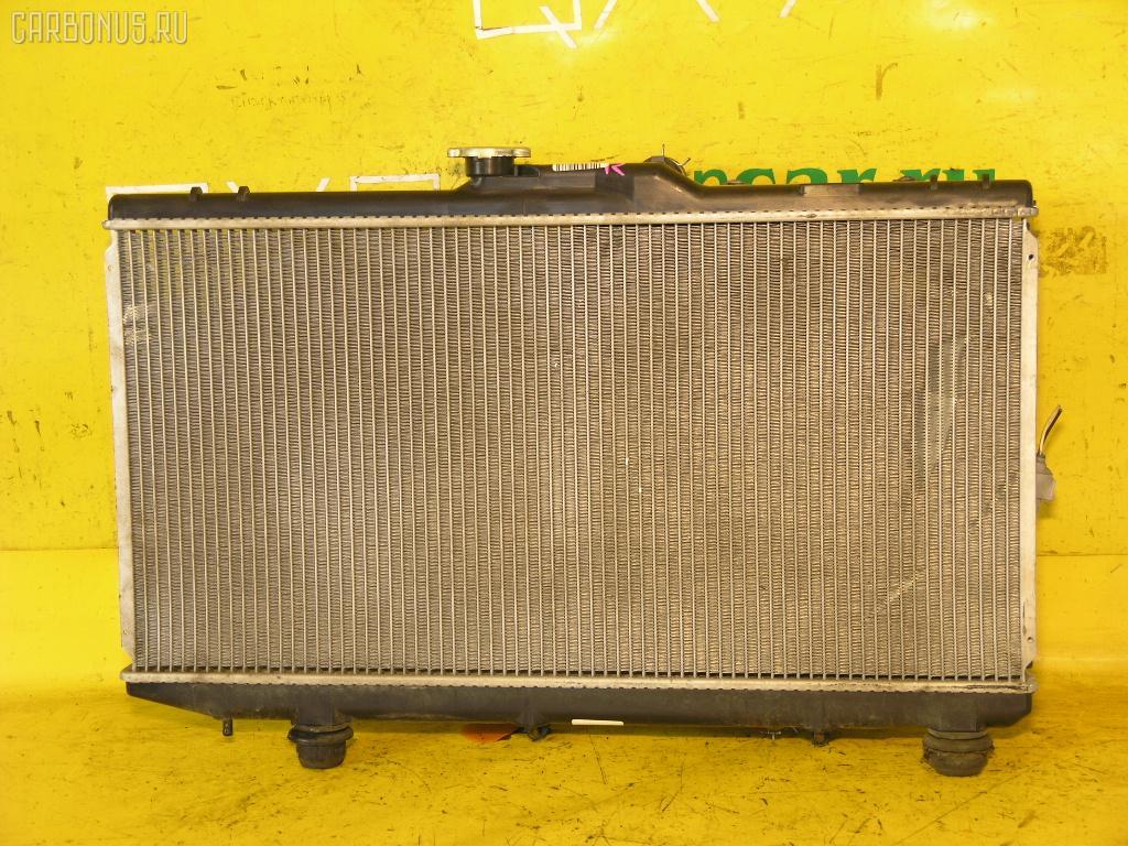 Радиатор ДВС TOYOTA COROLLA AE114 4A-FE. Фото 2