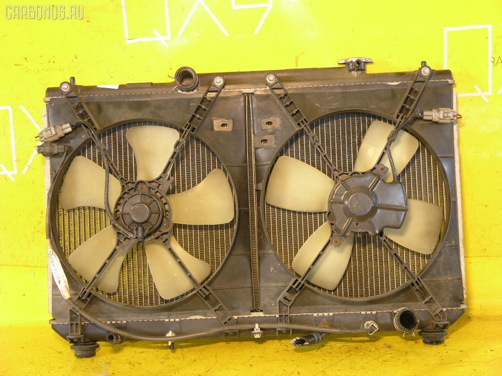 Радиатор ДВС TOYOTA MARK II QUALIS SXV20W 5S-FE. Фото 4