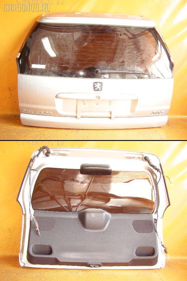 Дверь задняя PEUGEOT 306 BREAK 7ERFV Фото 2