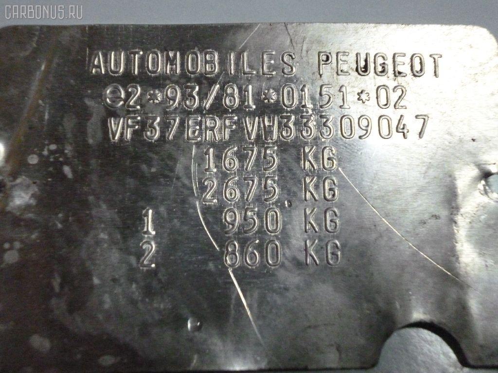 Корпус воздушного фильтра PEUGEOT 306 BREAK 7ERFV RFV-XU10J4R Фото 4