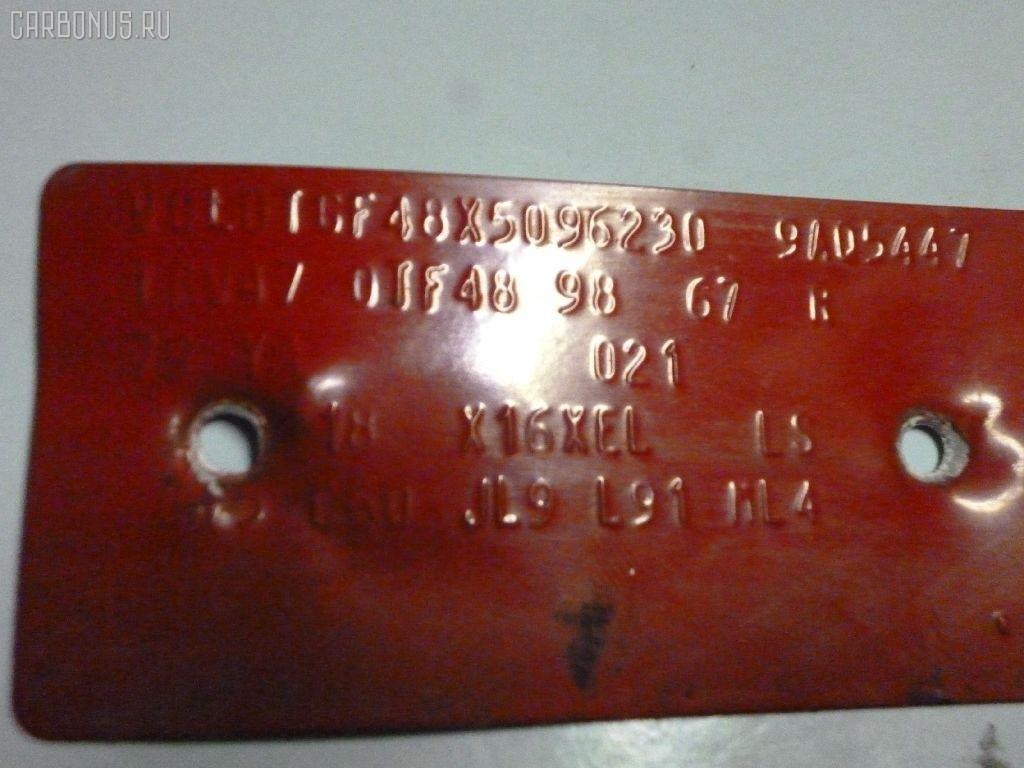Радиатор печки OPEL ASTRA G W0L0TGF48 X16XEL Фото 4