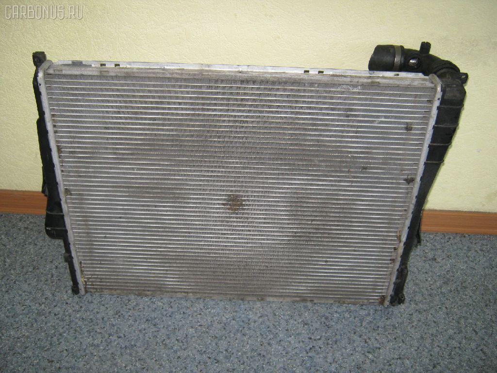 Радиатор ДВС BMW 3-SERIES E46-AV22 M54-226S1. Фото 3