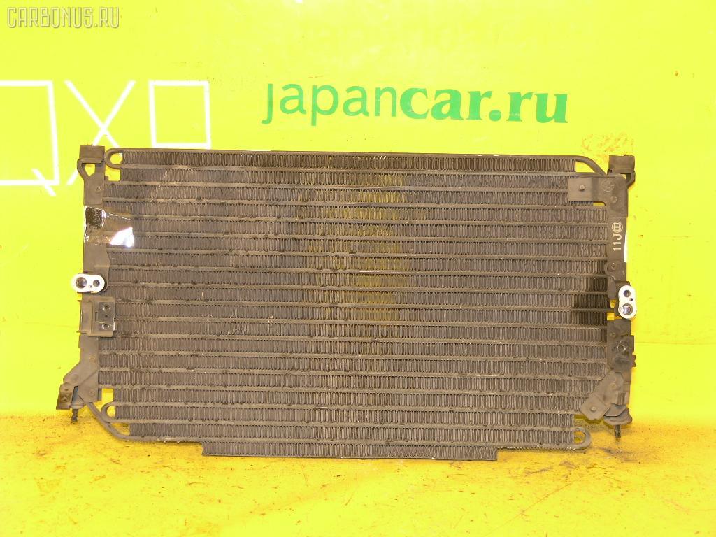 Радиатор кондиционера TOYOTA MARK II GX81 1G-FE. Фото 2
