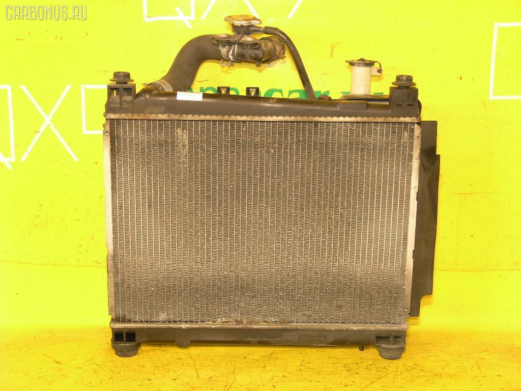 Радиатор ДВС TOYOTA PROBOX NCP55V 1NZ-FE. Фото 1
