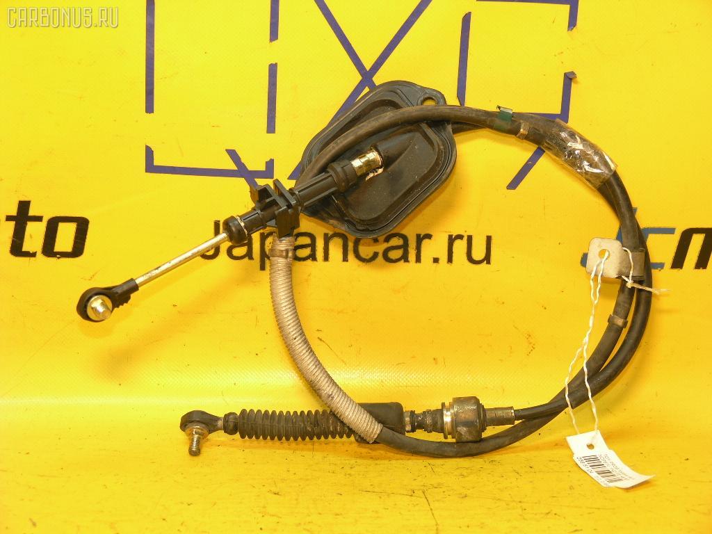 Тросик на коробку передач TOYOTA PROBOX NCP51V 1NZ-FE. Фото 1