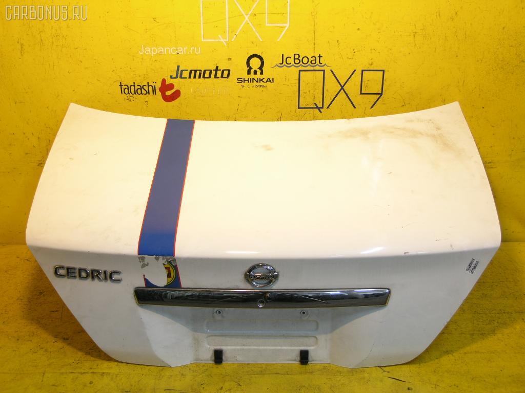 Крышка багажника NISSAN CEDRIC MY34. Фото 5