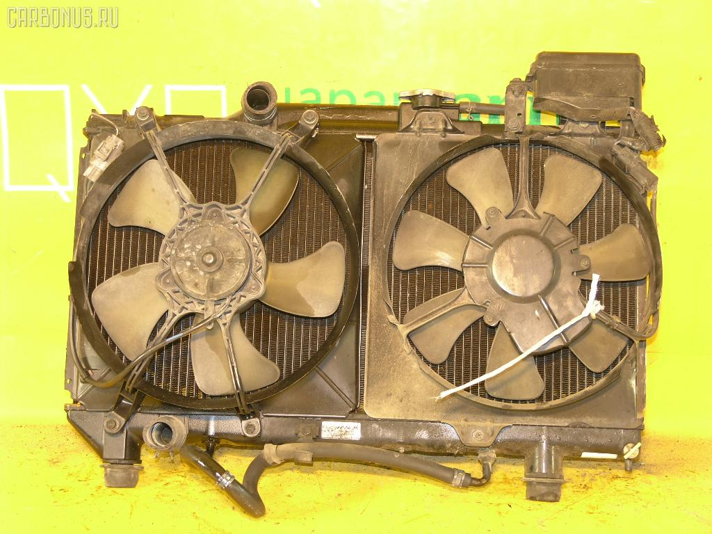Радиатор ДВС TOYOTA CALDINA ET196V 5E-FE. Фото 4