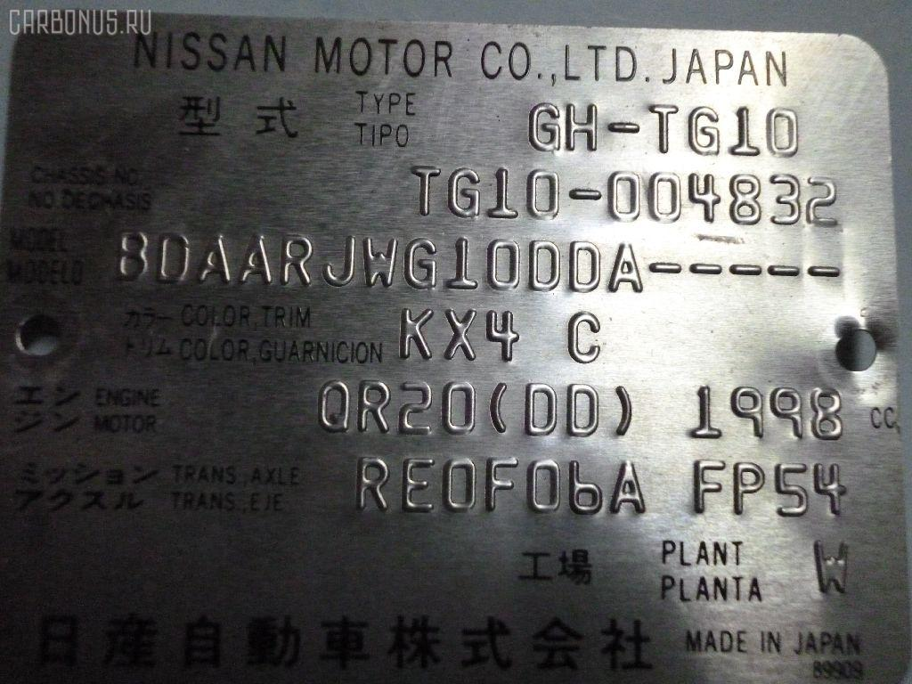 Тросик на коробку передач NISSAN BLUEBIRD SYLPHY TG10 QR20DD Фото 3