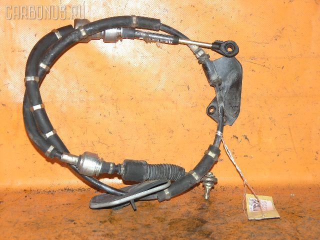 Тросик на коробку передач NISSAN BLUEBIRD SYLPHY TG10 QR20DD. Фото 1