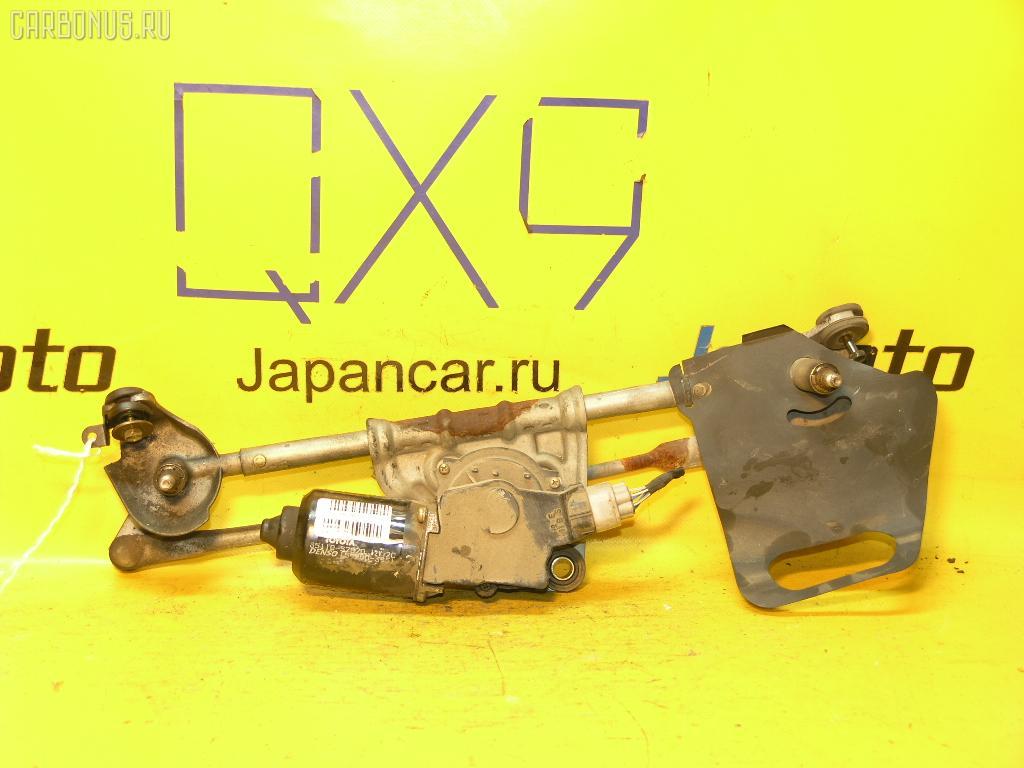 Мотор привода дворников TOYOTA VITZ SCP10. Фото 4