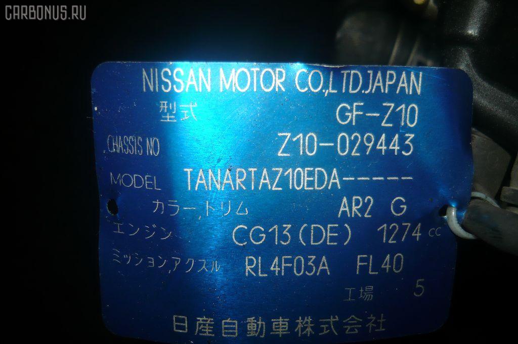 КПП автоматическая NISSAN CUBE Z10 CG13DE. Фото 7