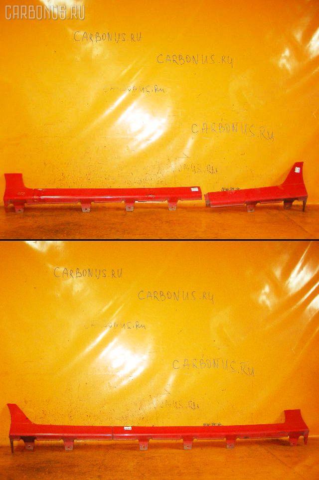 Порог кузова пластиковый ( обвес ) NISSAN CUBE Z10. Фото 3