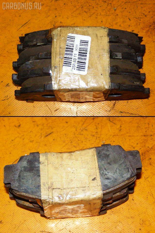 Тормозные колодки HONDA SABER UA5 J32A. Фото 5