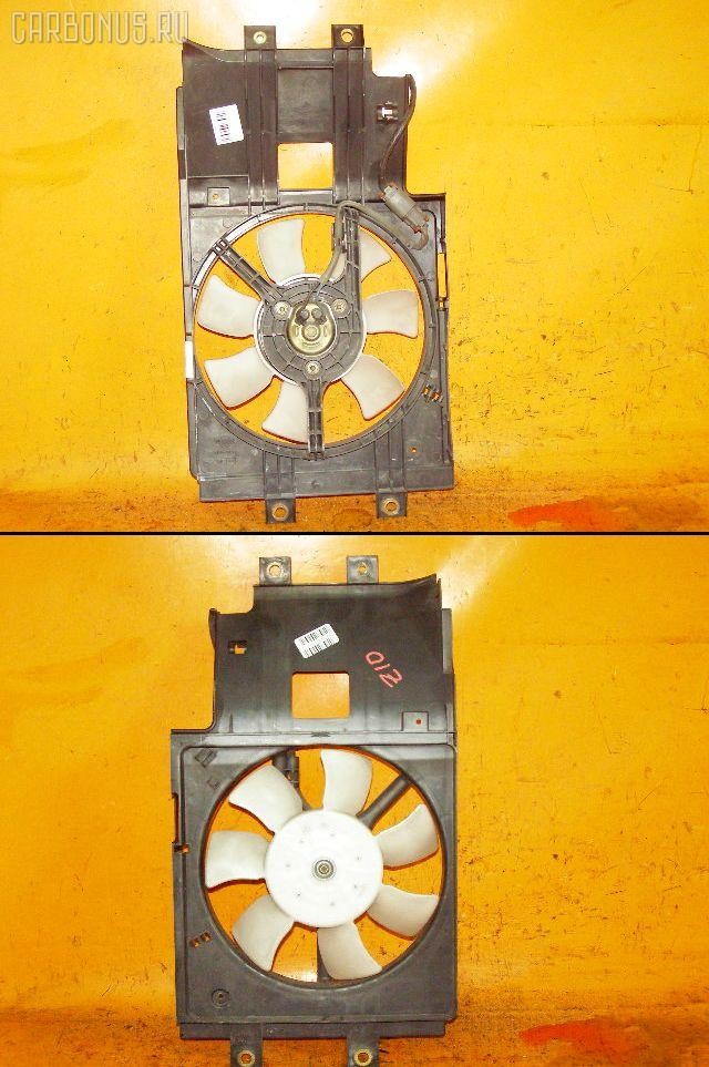 Вентилятор радиатора кондиционера NISSAN CUBE AZ10 CGA3DE. Фото 2