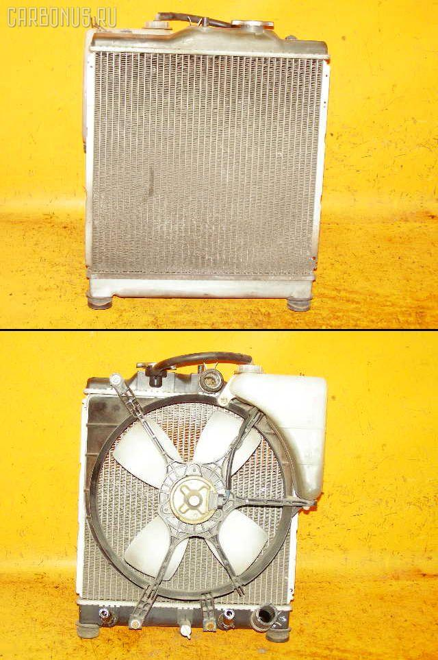 Радиатор ДВС HONDA CAPA GA4 D15B. Фото 3