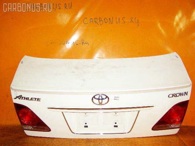 Крышка багажника TOYOTA CROWN GRS182 Фото 1
